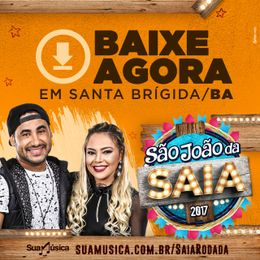 Capa: Saia Rodada - Ao Vivo Em Santa Brigida - BA
