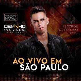 Capa: Devinho Novaes - Ao Vivo Em São Paulo