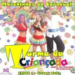 Capa: Turma da Criançada - Marchinhas de Carnaval Infantil
