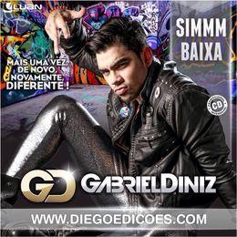 Capa: Gabriel Diniz - Mais Uma Vez de Novo, Novamente, Diferente