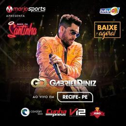 Capa: Gabriel Diniz - Baile Da Santinha (Recife 2018)