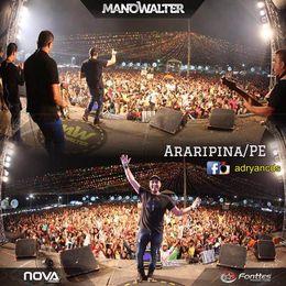Capa: Mano Walter - Ao Vivo Em Araripina