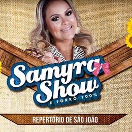 Capa: Samyra Show - Promocional Junho 2015