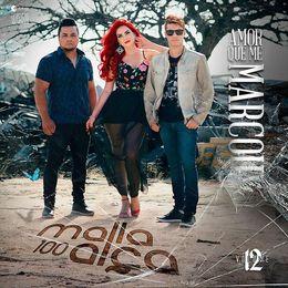 Capa: Malla 100 Alça - Amor Que Me Marcou - Vol. 12