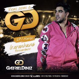 Capa: Gabriel Diniz - Ao Vivo em Garanhuns/PE