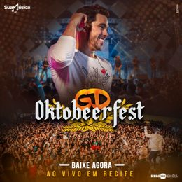 Capa: Gabriel Diniz - Oktobeerfest - Ao Vivo Em Recife
